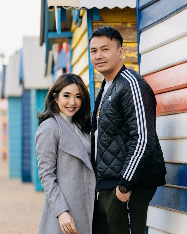 Gisel dan Wijin di Brighton Bathing Boxes (NOT COVER)