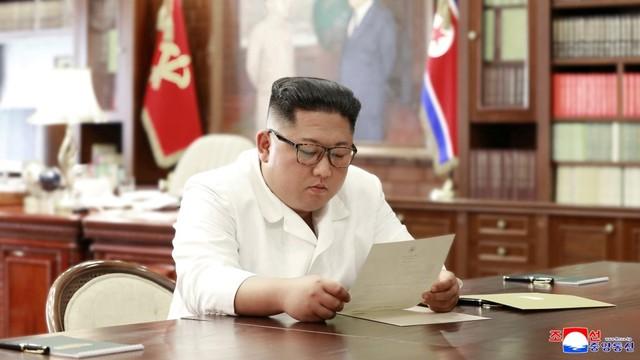 """Ketika Kim Jong-un dan Donald Trump jadi """"Sahabat Pena"""" (445586)"""