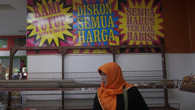 Giant Tutup, Manajemen Jamin Kompensasi Karyawan di Atas Standar UU Cipta Kerja (808266)