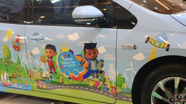 Saat Toyota Garap Mobil Masa Depan dari Gambar Anak-anak  (122602)