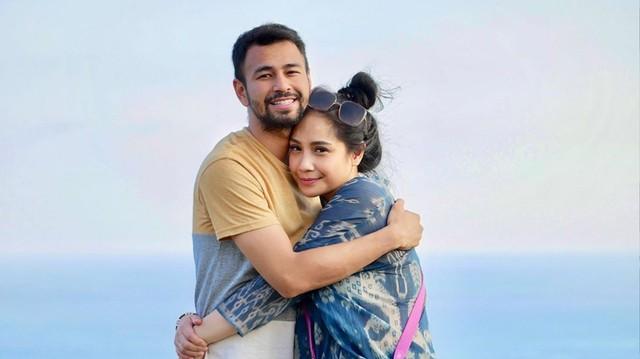 Nagita Slavina dan Raffi Ahmad.