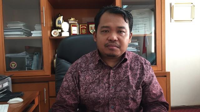 Ketua KPAI Susanto di kantor KPAI.