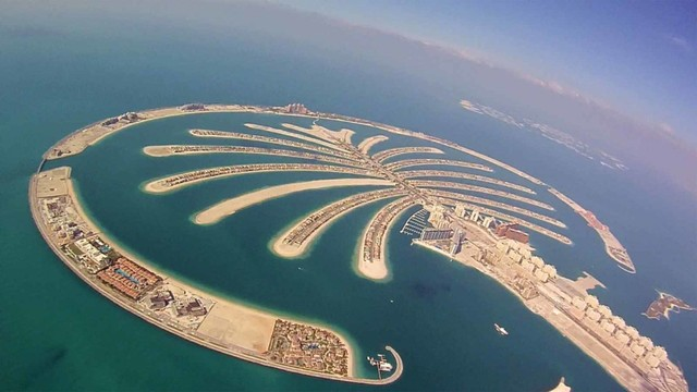 Palm Island di Dubai