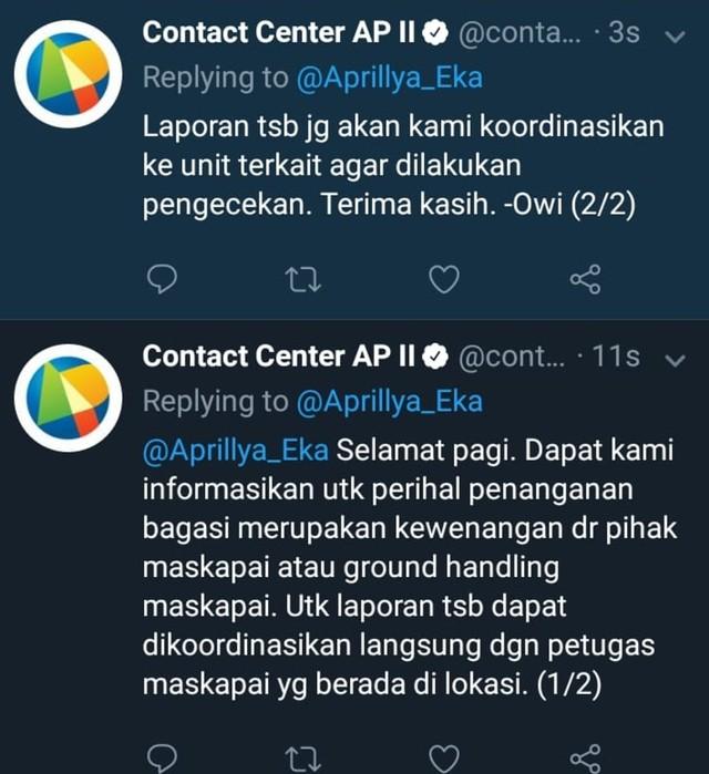 Komentar Angkasa Pura soal kalimat ejekan di tag penumpang