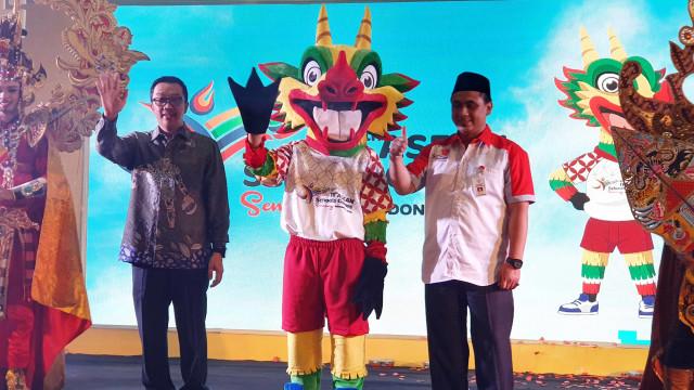 Menpora Imam Nahrawi, peluncuran logo dan maskot ASEAN School Games 2019