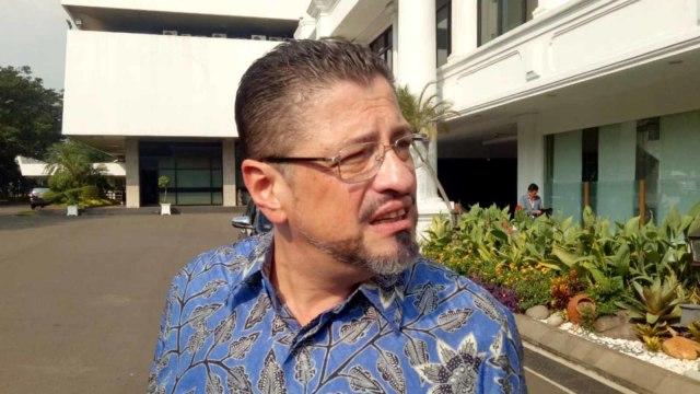 Rodrigo A Chaves-Perwakilan Bank Dunia di Indonesia menemui Presiden Jokowi