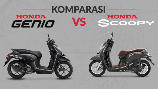 Membandingkan Fitur Honda Genio Vs Scoopy, Bagus Mana