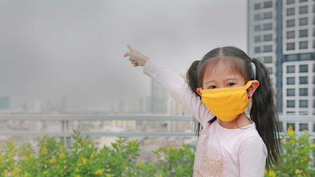 Anak dan polusi udara