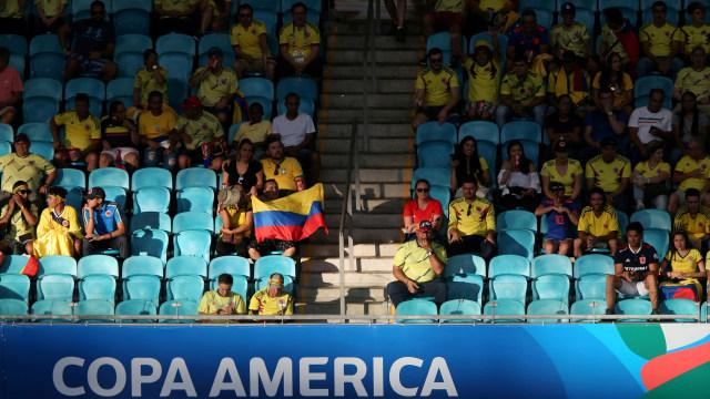 Kursi-kursi Kosong di Copa America 2019 (317858)