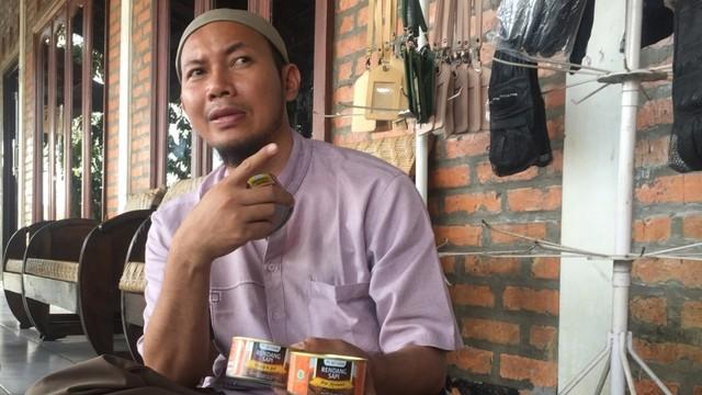 Lahan Ternak Kambing dan Domba Milik Budi, salah aatu peternak nasabah Bank Syariah Mandiri