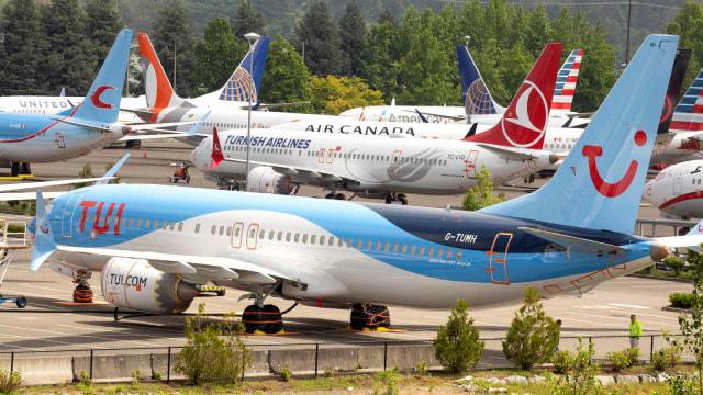 Saking Banyak Di-grounded, Boeing Simpan 737 Max di Parkiran Mobil (11620)