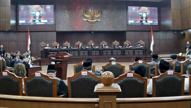 Mahkamah Konstitusi, Sidang PHPU