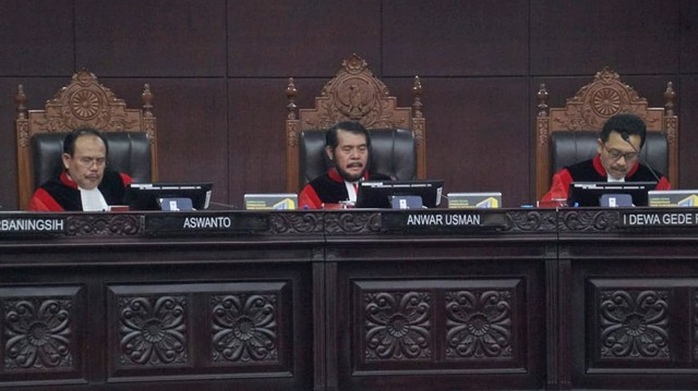 Mahkamah Konstitusi, Sidang Putusan, Sengketa PHPU