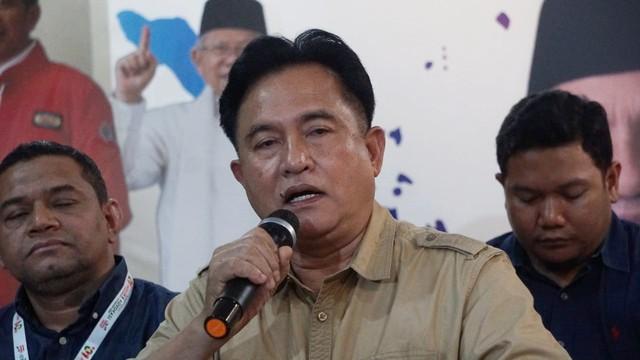 Yusril: Putusan MA Tak Singgung Pilpres 2019, MK Sudah Menangkan Jokowi-Ma'ruf (99361)