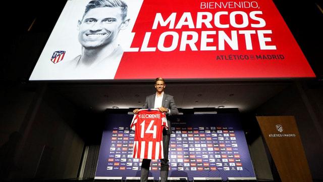 Marcos Llorente Diperkenalkan Atletico dengan Nomor Rodri (26974)