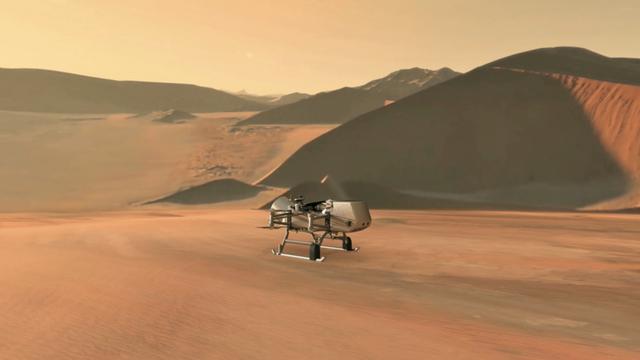 Robot Dragonfly milik NASA