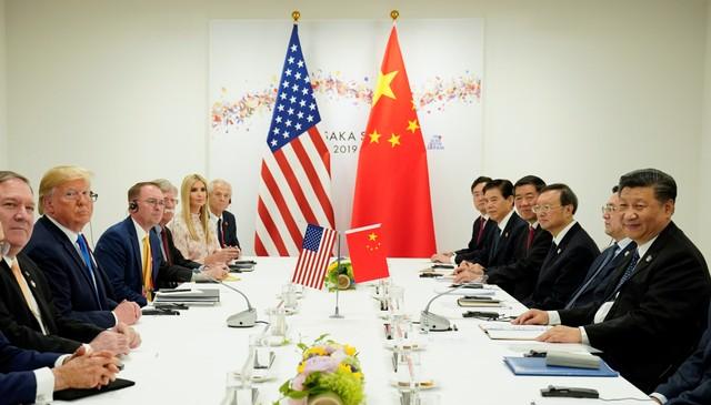 Presiden Amerika Serikat Donald Trump, Presiden China Xi Jinping, KTT G20