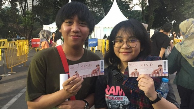 fan meeting 'Min:D', Istora Senayan