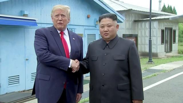 Donald Trump, Kim Jong Un.