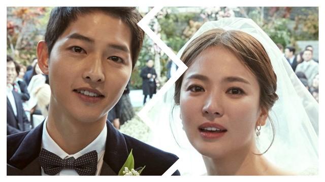 Song Joong Ki dan Song Hye Kyo cerai.