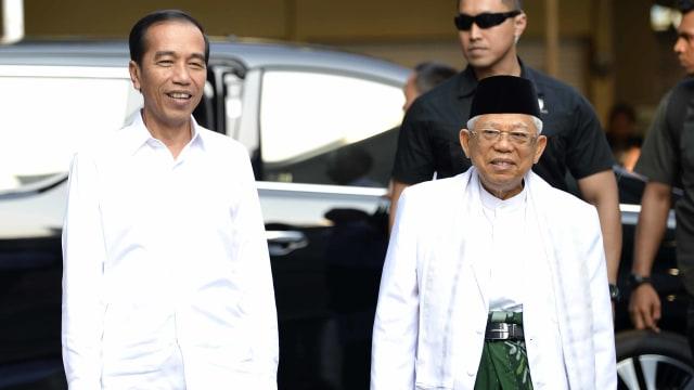 Penetapan Presiden dan Wakil Presiden terpilih di KPU, Jokowi-Maruf