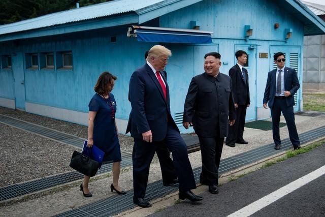 Trump di Korea Utara