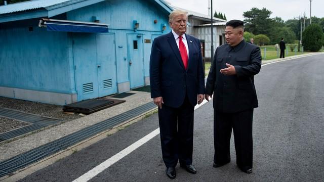 Kim Jong Un, Donald Trump, Korea Utara