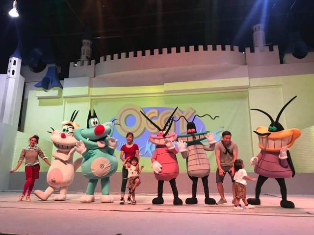 Oggy and The Cockroaches di Ancol