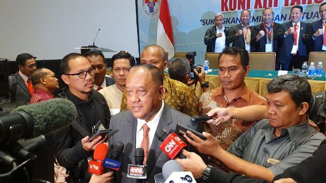 Ketum KONI: Tanpa Ricuh, Karate Sukses Gelar Pertandingan di PON Papua (49769)