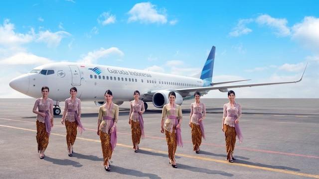 Garuda Indonesia Kebaya Pertiwi Special Flight