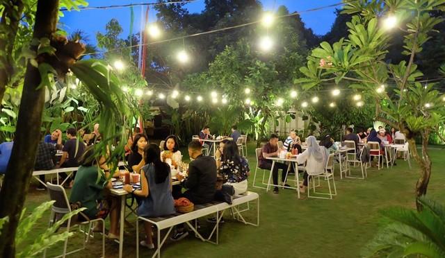 7 Restoran Di Yogyakarta Dengan Nuansa Outdoor Space Yang Asyik Kumparan Com
