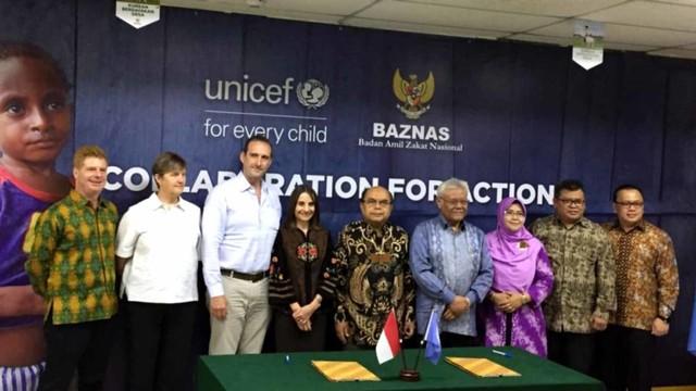 Baznas-UNICEF Kerja Sama Bantu Anak-anak Korban Krisis Kemanusiaan (590078)
