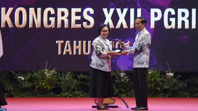Presiden Joko Widodo, Kongres XXII PGRI tahun 2019