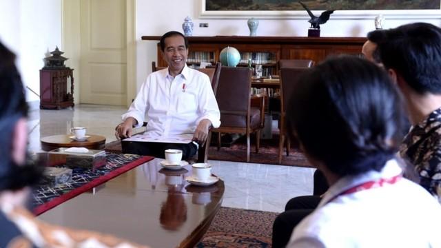pertemuan Rich Brian, Presiden Joko Widodo, Istana Bogor