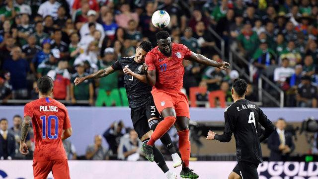Kalahkan AS, Meksiko Juara Piala Emas CONCACAF 2019 (309764)