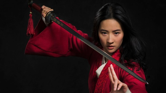 Liu Yifei sebagai Mulan versi live action
