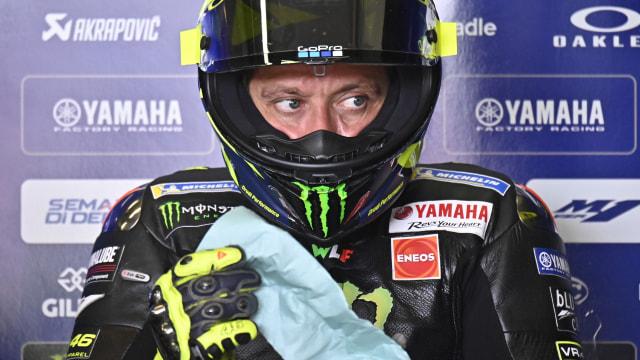 Valentino Rossi di GP Jerman