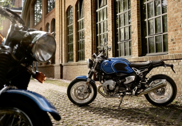 BMW R nineT/5 edisi 50 tahun