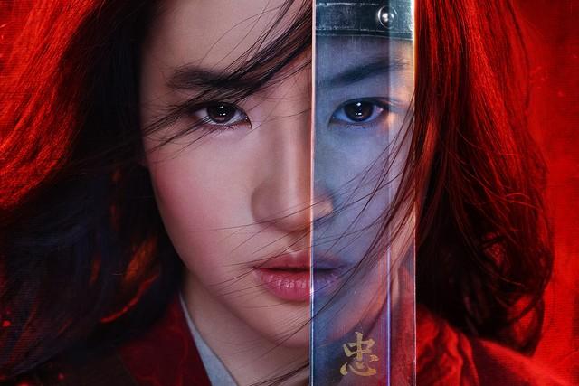 Poster film live action 'Mulan'