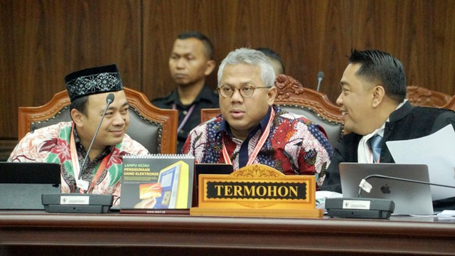 Ketua KPU, Arief Budiman, Mahkamah Konstitusi, sidang sengketa Pemilu Legislatif 2019
