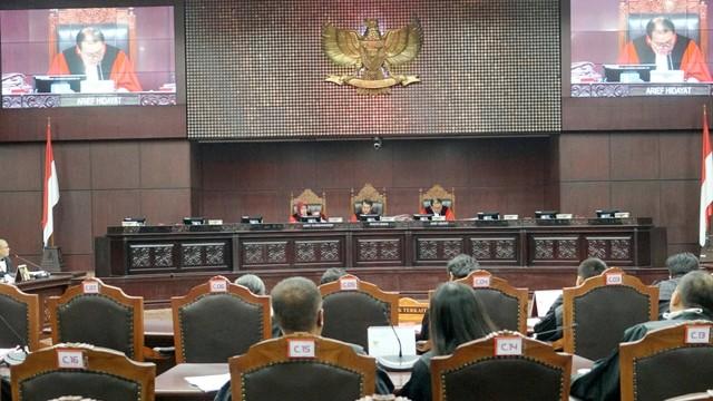 Mahkamah Konstitusi, sidang sengketa Pemilu Legislatif 2019