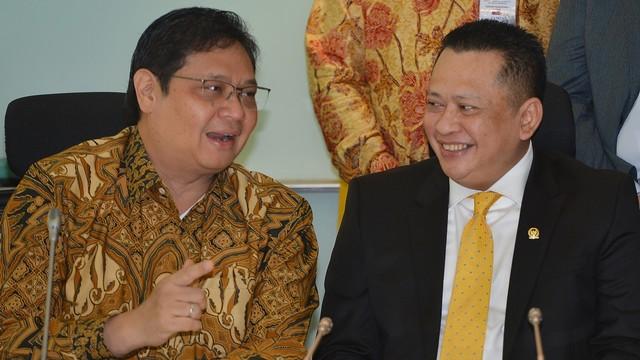 LIPSUS, KONTEN SPESIAL GOLKAR, Airlangga Hartarto Bambang Soesatyo