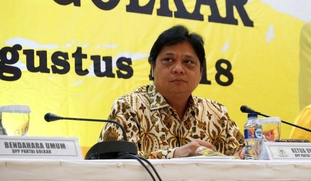 LIPSUS, KONTEN SPESIAL GOLKAR, Ketua Umum Partai Golkar Airlangga Hartarto