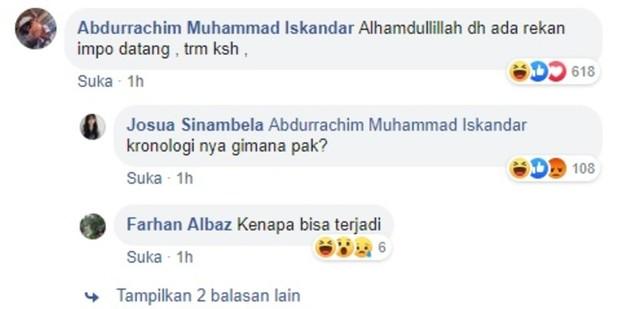 Image result for pria kalimantan minta tolong di facebook