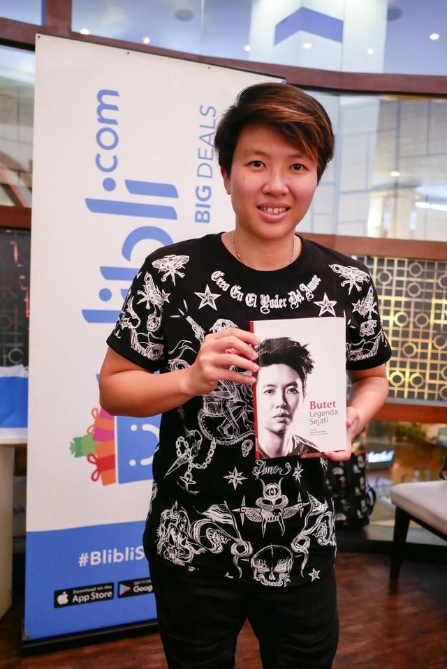 Inspirasi Kesuksesan Liliyana Natsir Lewat Buku Butet Legenda Sejati (350685)
