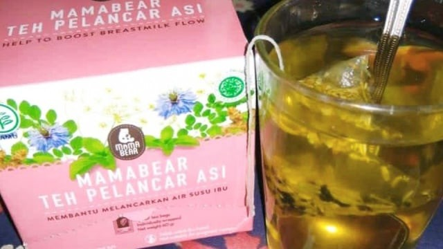 Review Teh Pelancar ASI Mama Bear (1213291)