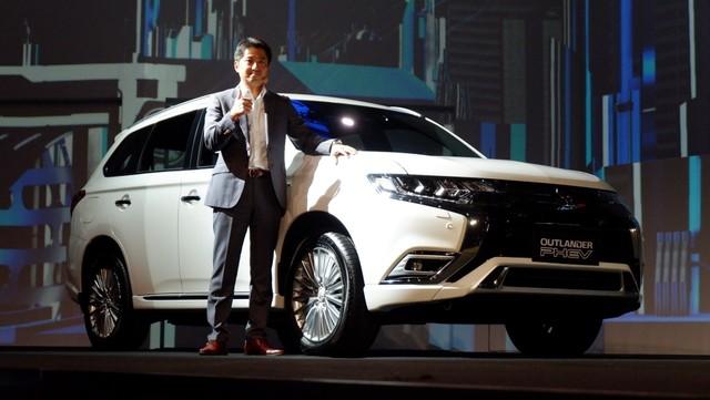 Peluncuran mobil baru Mitsubishi