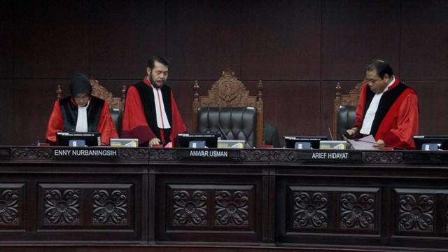 Sidang sengketa hasil pileg 2019, Mahkamah Kontitusi