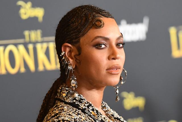 Beyonce di Premiere Film Lion King