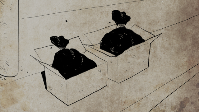 Ilustrasi grafis kasus Mutilasi 13 di Setiabudi Tahun 1981